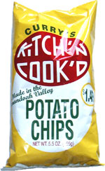 Curry's Kitch'n Cook'd Potato Chips