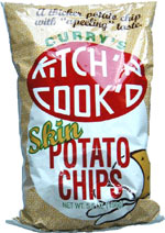 Curry's Kitch'n Cook'd Skin Potato Chips