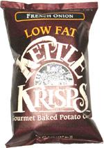 Kettle Krisps Baked Potato Chips French Onion