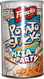 French's Potato Sticks Pizza Party
