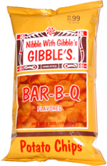 Gibble's Bar-B-Q Potato Chips