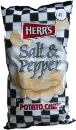 Herr's Salt & Pepper Potato Chips
