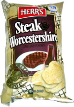Herr's Steak & Worcestershire Potato Chips