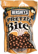 Hershey's Milk Chocolate Covered Pretzel Bites