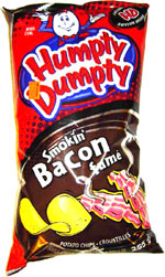 Humpty Dumpty Smokin' Bacon Potato Chips