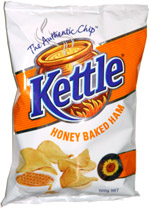 Kettle Honey Baked Ham Potato Chips