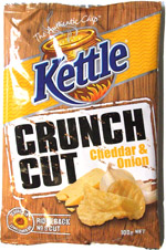 Kettle Crunch Cut Cheddar and Onion