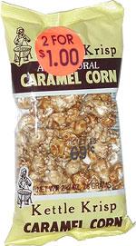 Kettle Krisp All Natural Caramel Corn