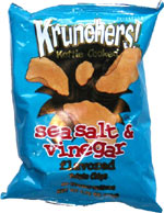 Krunchers! Kettle Cooked Sea Salt & Vinegar Potato Chips