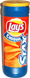 Lay's Stax Cheddar Potato Crisps