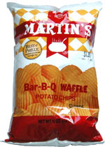 Munch With Martin's Bar-B-Q Waffle Potato Chips