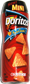 Doritos Nacho Cheesier Mini Go Snacks