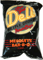 New York Deli Mesquite BAR-B-Q Kettle Cooked Potato Chips