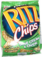 Ritz Chips Sour Cream & Onion