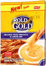 Rold Gold Braided Twist Pretzels & Cheese Dip