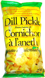 Sans Nom Dill Pickle Potato Chips