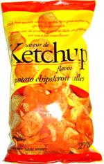 Sans Nom Ketchup Flavour Potato Chips