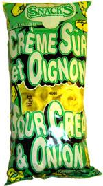 Snack's Sour Cream & Onion Flavoured Rings (Rondelles à Saveur de Crème Sûre et Oignons)