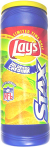 Lay's Stax Jalapeno Cheddar Potato Crisps