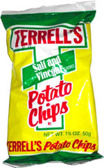 Terrell's Salt & Vinegar Potato Chips