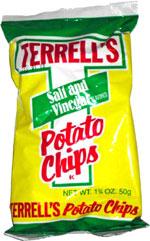 Terrell's Salt & Vinegar Potato Chips