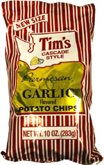 Tim's Cascade Style Parmesan & Garlic Potato Chips