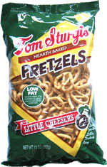 Tom Sturgis Hearth Baked Pretzels Little Cheesers