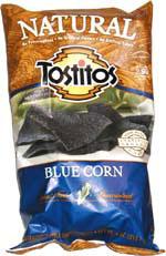 Tostitos Natural Blue Corn Tortilla Chips