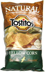 Tostitos Natural Yellow Corn  Tortilla Chips