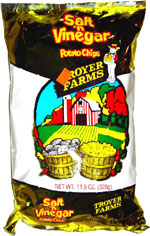 Troyer Farms Salt 'n Vinegar Potato Chips