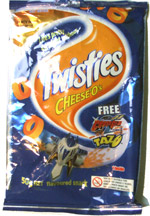 Twisties Cheese-O's