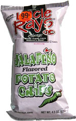 Uncle Ray's Jalapeno Potato Chips
