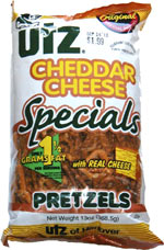Utz Cheddar Cheese Specials Pretzels