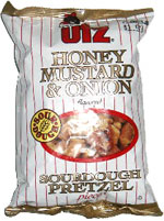 Utz Honey Mustard & Onion Sourdough Pretzel Pieces