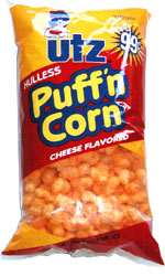 Utz Hulless Puff'n Corn Cheese Flavored