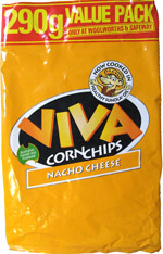 Viva Corn Chips Nacho Cheese