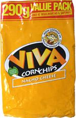 Viva Corn Chips Nacho Cheese