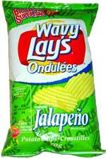 Wavy Lay's Ondulées Jalapeño