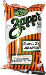 Zapp's Hotter 'n Hot Jalapeno Potato Chips