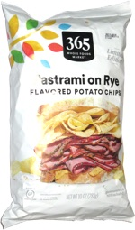 365 Pastrami on Rye Flavored Potato Chips