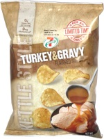 7 Select Turkey & Gravy Flavored Kettle Style Potato Chips