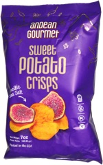 Andean Gourmet Sweet Potato Crisps