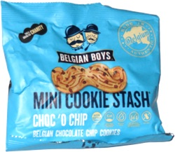 Belgian Boys Mini Cookie Stash Choc 'o Chip