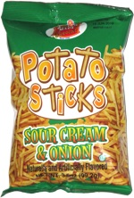 Better Made Potato Sticks Sour Cream & Onion