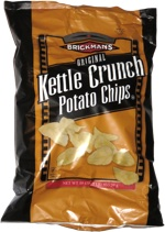 Brickman's Original Kettle Crunch Potato Chips