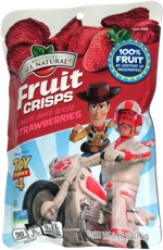 Brothers All Natural Fruit Crisps Freeze-Dried Sliced Strawberries