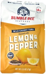 Bumble Bee Seafoods Wild Caught Tuna Lemon & Pepper