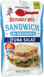Bumble Bee Sandwich in Seconds Tuna Salad
