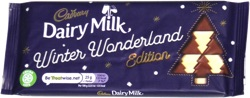 Cadbury Dairy Milk Winter Wonderland Edition