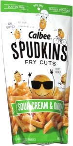 Spudkins Fry Cuts Sour Cream & Onion